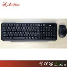 hot sale 2.4g wireless computer keyboard and mouse