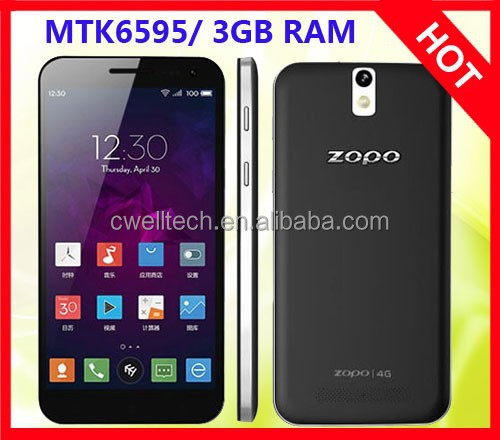 Smartphone ZOPO ZP999 Octa Core Android 4.4 Smartphone 3GB RAM 32GB ROM 14MP Rear Camera and 5.0MP Front Camera Dual SIM