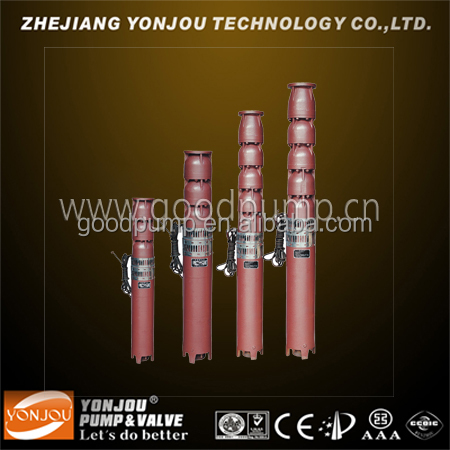 QJ vertical multistage submersible centrifugal pump