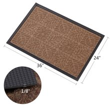 Large Outdoor Door Mats Rubber Shoes Scraper Front Door Entrance Doormat
