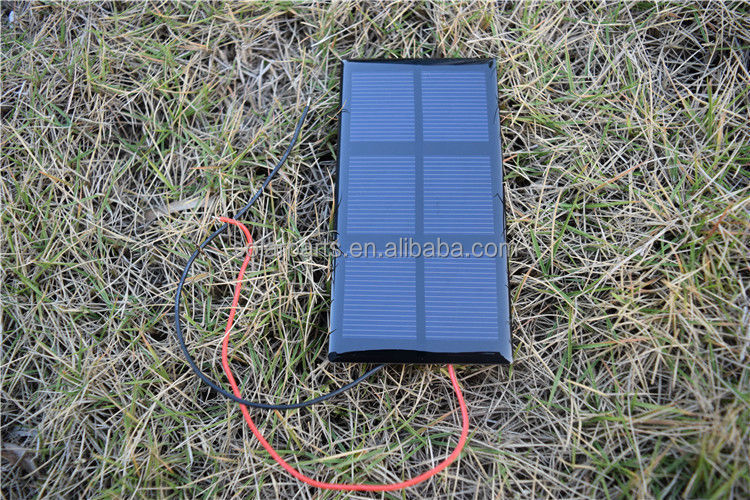 1.5V 400mA Small Power Mono-Crystalline Silicon Solar Panel Module