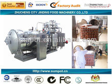 Cooking sterilizer canning retort horizontal autoclave sterilizer steam cooking