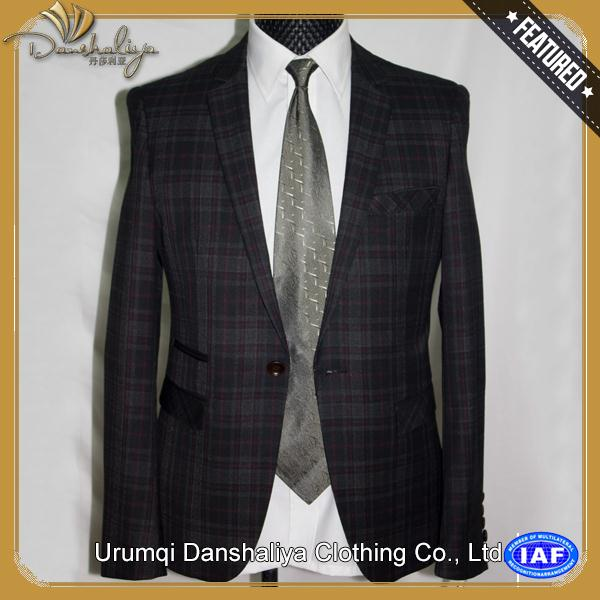 Professional suit men dress sample with CE certificate