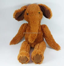 free sample plush long nose sitting brown elephant toys for sale wild soft elephant toys Custom Cheap Plush Stuffy Toy Elephant