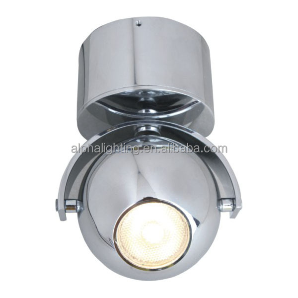 Elegant design dimmable adjustable led panel light 10W surface wall ceiling downlight