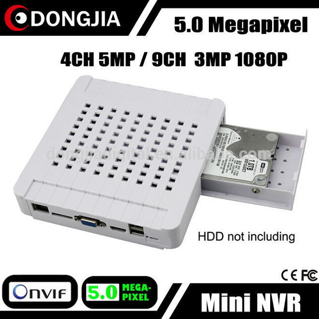 DONGJIA DJ-3509M 9 Channel ONVIF P2P Network 9CH HD Admin Password Reset DVR