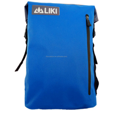 Cheap Fashion Bike Travel Waterproof Dry Bag Backpack With 600D Double Side TPU