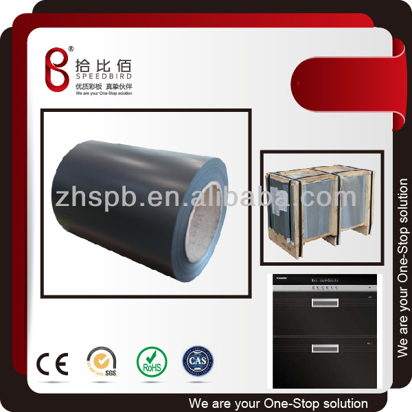 CHINA superior quality color coated steel coils manufacturer for toaster oven