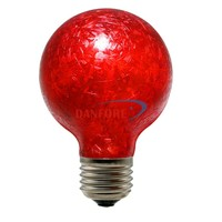 3.5W DIY Vintage light decoration red glass led bulb with ear of wheat design