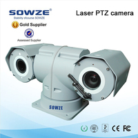 outdoor IP66 weather 360 degree rotation PTZ 30x optical zoom ip camera for professional police car