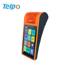 New Design 3g GPRS GPS Wifi Touch Screen Mobile POS with Thermal Printer