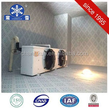 Practical cold room freezer for meat with compressors