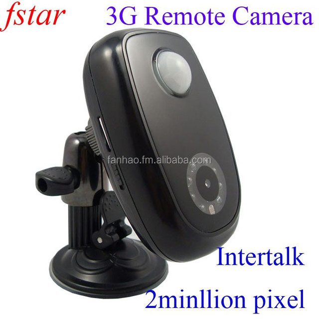 High quality mew 3G home alarm camera can send SMS command to control the camera 2 millliion piexls and intertalk functions