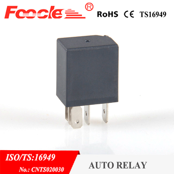 Automotive high current relay 12V 30A 4Pin