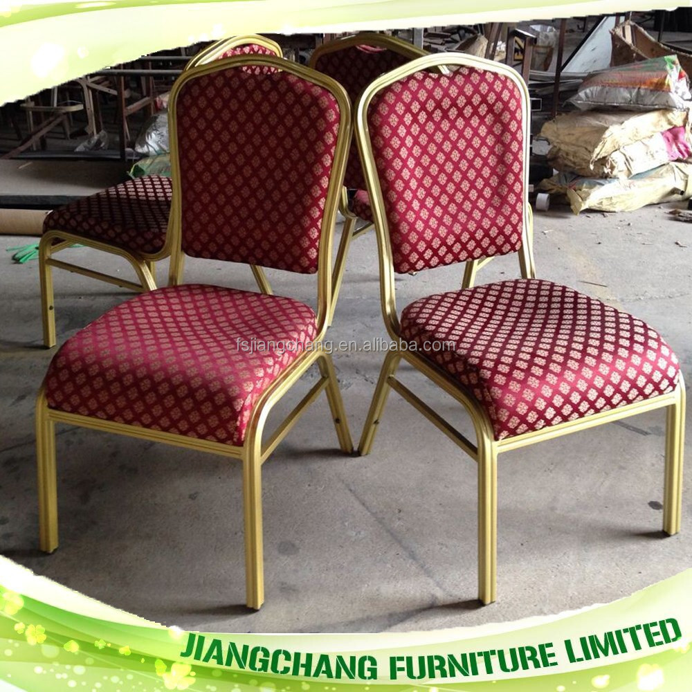 Hot Sale Stackable Used Red Fabric Banquet Chair Buy Red