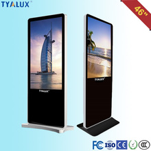 Transparent 46'' Full HD Internet Browser Lcd Monitor Usb Media Advertising Player