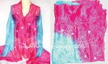 SILK TIE DYE FASHION SCARF