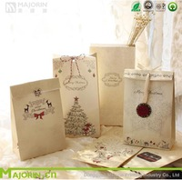 Majorin special christmas paper gift bag making for food for gift for candy