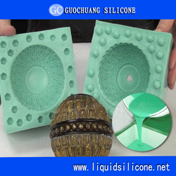 Liquid Mold Making Silicone Two Part RTV Silicone Rubber To Make Mould