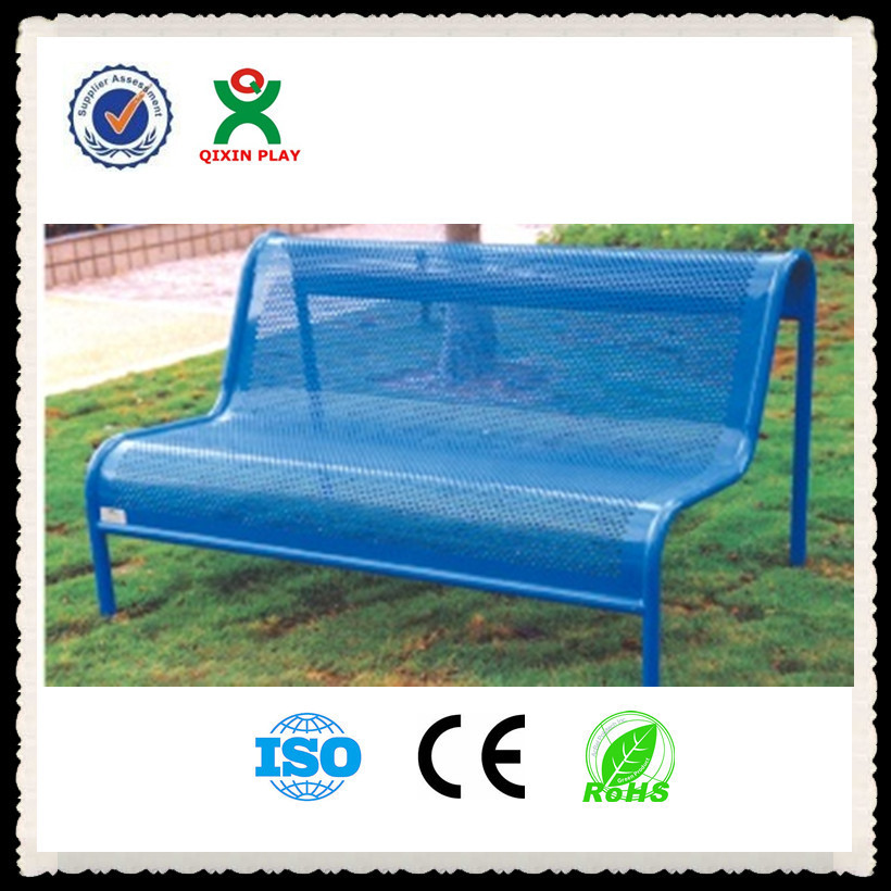 durable cheap metal garden bench popular metal bench for garden metal park benches for sale with back QX-145F
