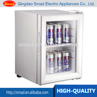 mini refrigerator, glass door fridge