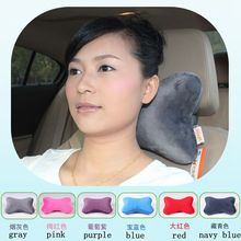 Bone neck microbead pillow cheap travel car seat plush cushion china promotional gift wholesale