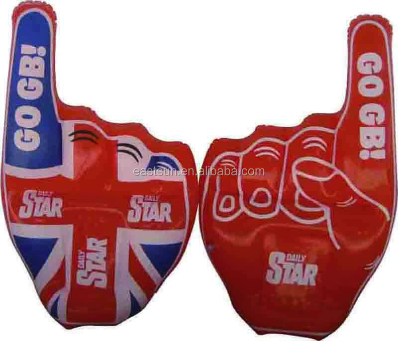 NEW promotion pvc inflatable hands