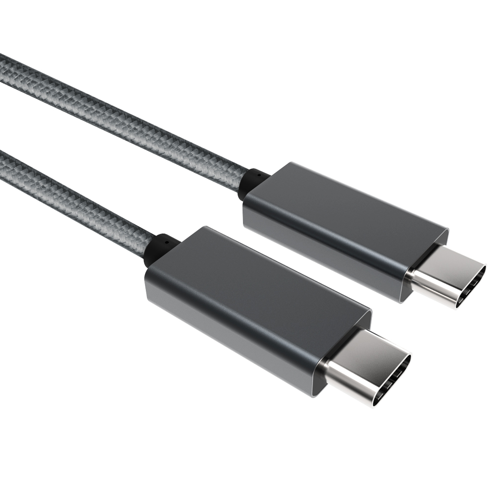High Tech usb gen 2 Type C Thunderbolt 3 port Cable (USB-C) 100 Watts Support 4K UHD Display PD function USB-IF member factory