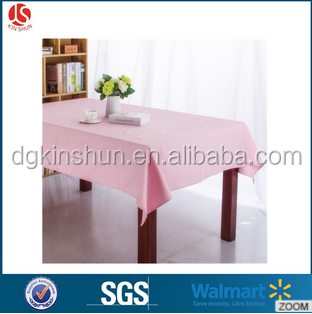 Plain Coloured Party Supplies/ Plain partyware Solid coloured Plastic Lined Plastic Table Cover