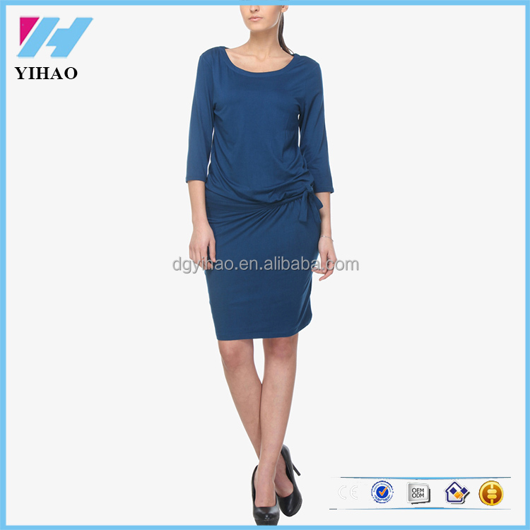 Latest Fashion Apparel Woman's Casual Shift Dress