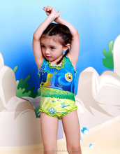 Fashion new baby girl bikini kids girl swimwear
