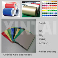 color coated&pre-coated & prepainted aluminum sheet coil 1050,1060,1100
