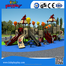 2017 Hot Commercial Plastic Outdoor Playground Equipment For Children KP16-065A