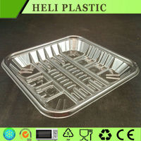 2016 new design eco-friendly plastic fruit tray