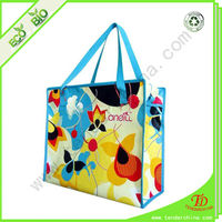 Made Of Non Woven PP Reusable Shopping Bag With Zipper