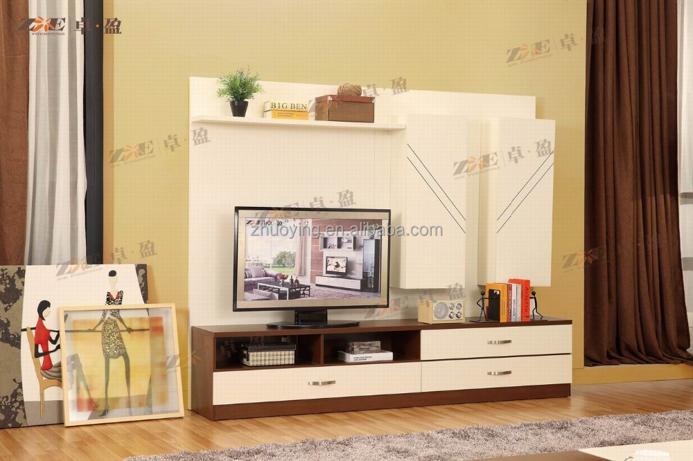 LCD TV HALL CABINET LIVING ROOM TV UNIT DESIGNS FURNITURE