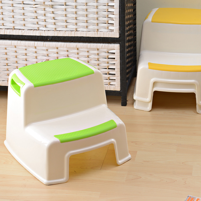 Children Step stool cheap colorful for bathroom kitchen none-slip