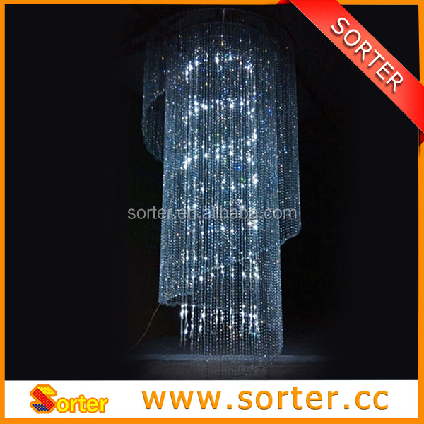 14MM Crystal Bead Garland chain for Chandelier decoration/ Event/Wedding decor
