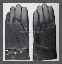 Factory Custom Made Black Men's Cheap Leather Working Glove