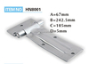 factory price metal hatch hinge for cabinets and truck doors