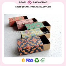Janpanese Pattern Design Drawer Box with Sleeve, Bow Tie Gift Box, Gift Packaging for Bow Tie