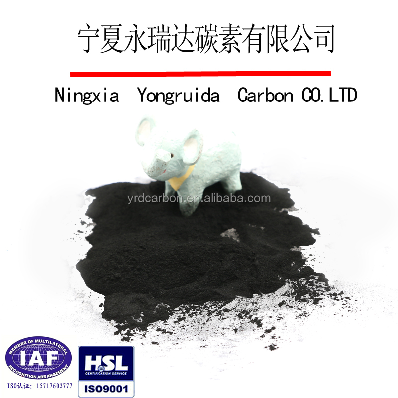 Food grade powder activated charcoal made in China sale