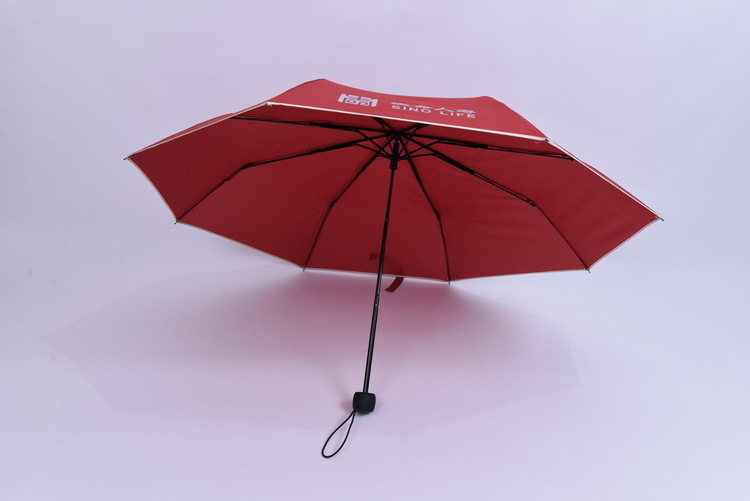Promotion fold umbrella for insurance company