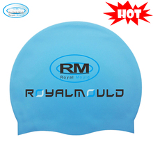 Hot Selling High Quality Flexible Silicone Swim Cap For Adult Factory From China