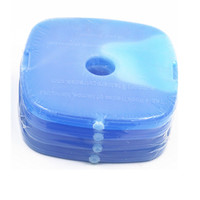 122*122*12CM Cool Cooler Fit Lunch Box Use Round Ice Pack For Food Fresh