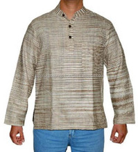 Latest Khadi Kurta Designs Mens Short Cotton Plain Kurtas