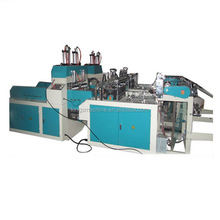 HOT SALE Plastic VEST/TSHIRT Bag Making Machine Price(Ruian Kings brand)