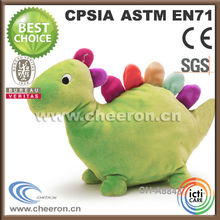 Full animal body shape plush dinosaur hand puppet
