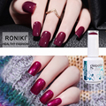 RONIKI OEM ODM Factory Price Vivid Color Gel Soak Off Uv Led Nail Polish Bottle For Nails