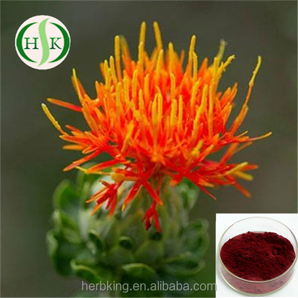 Pure natural Safflower extract Crocetin Saffron Extract
